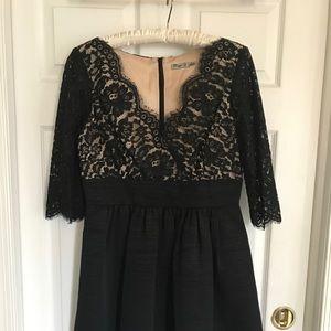 Eliza J cocktail dress with lace bodice